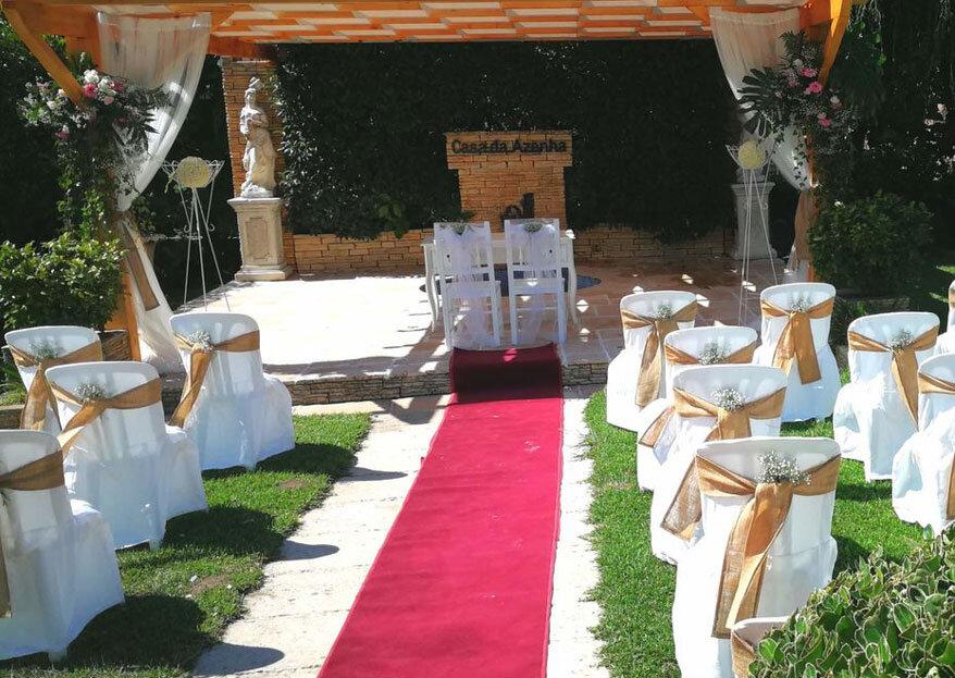 Um casamento ao seu estilo com a qualidade e experiência comprovada da Casa da Azenha