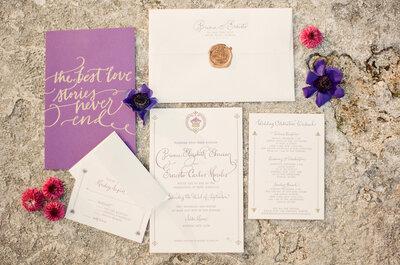 ¿Cómo elegir el parte de matrimonio ideal según el estilo de la boda?