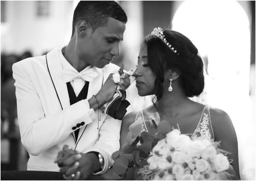 Lina y Carlos: un amor que nació en el Chocó y una boda con el ¡mejor sabor pacífico!