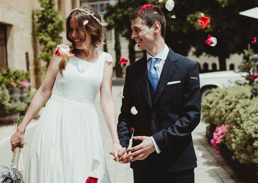 Un rotundo éxito: la boda de Ianire y Xavi