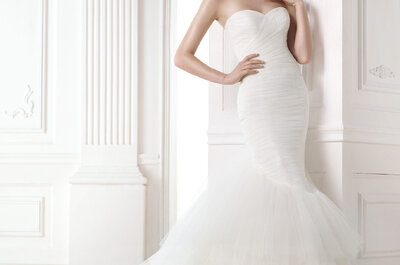 Mermaid cut gowns by Pronovias 2015