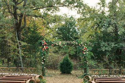 ¡Apuesta por lo natural! Decoración de boda rústica 2017
