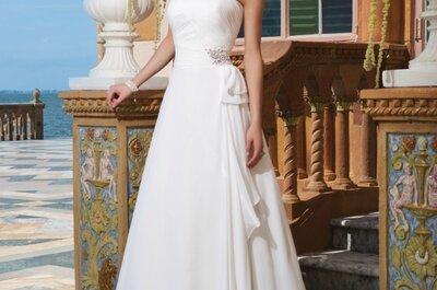 Suknie ślubne Sincerity Bridal na rok 2015: haftowane rękodzieła i zmysłowe cięcia.