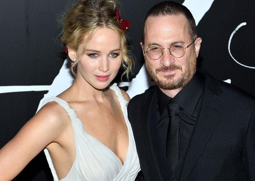 Jennifer Lawrence alegadamente separada de Darren Aronofsky
