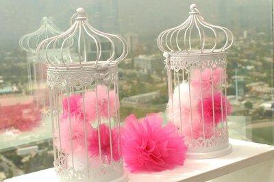 3 ideas de decoración de boda