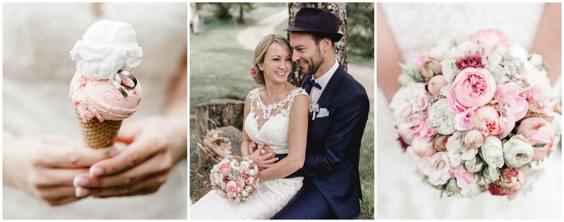 Die Hochzeit von Tanja und Sebastian -  Feier im Vintage-Stil unter freiem Himmel