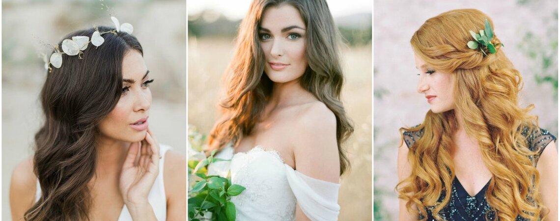 Bruidskapsels met los haar: ga voor naturel!