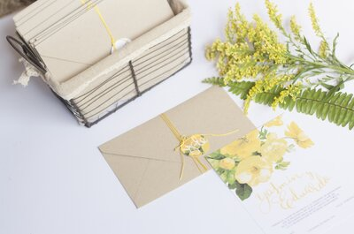 Cómo lograr la invitación de boda perfecta. 5 pasos que debes seguir