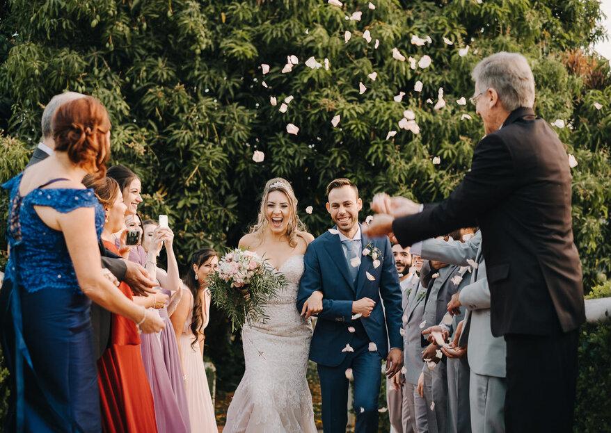 Casamento de Roberta & Felipe: inspiração Toscana e muita emoção em encontro de famílias no interior de São Paulo!
