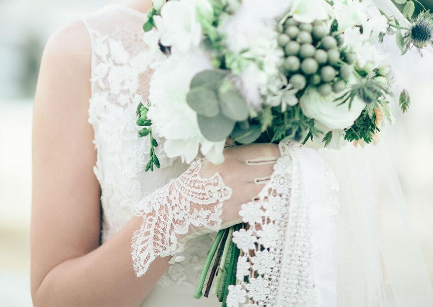 Guantes para novia: el accesorio nupcial que nunca pasa de moda