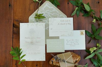 Dime cómo es tu boda y te diré el estilo de las invitaciones
