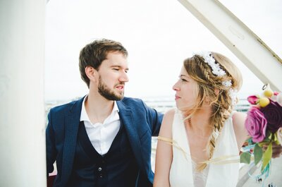 Ingrid et Baptiste : des jeux, un baby foot et de la bonne humeur pour ce joli mariage !