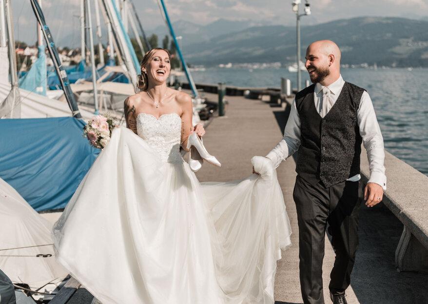 Die zauberhafte Hochzeit von Sandra & Alessandro am Zürichsee
