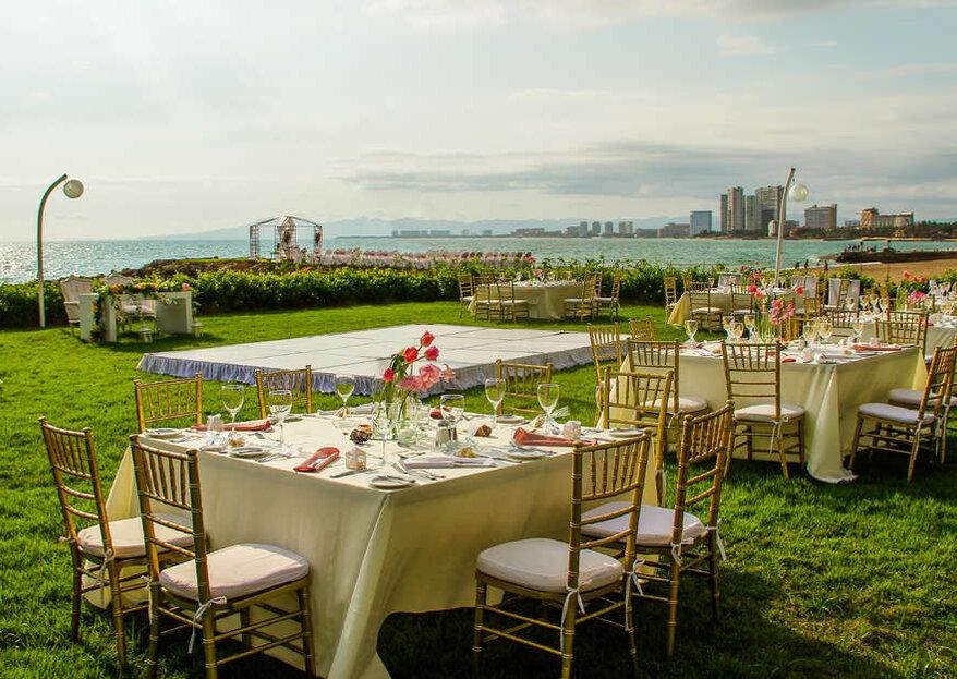 El sueño de tu vida, casarte a la orilla del mar en Sheraton Buganvilias Resort