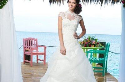 Romantische Hochzeitskleider der Sincerity Bridal Kollektion 2014