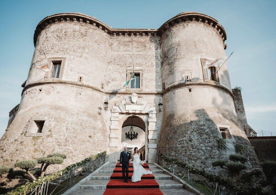 Castello di Faicchio, una cornice fiabesca nel cuore del Sannio beneventano per le vostre nozze da sogno
