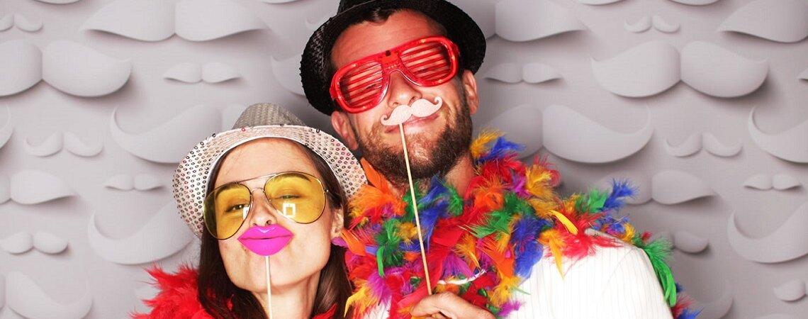 Cómo tener un photobooth en tu boda: el lugar para que todos se diviertan