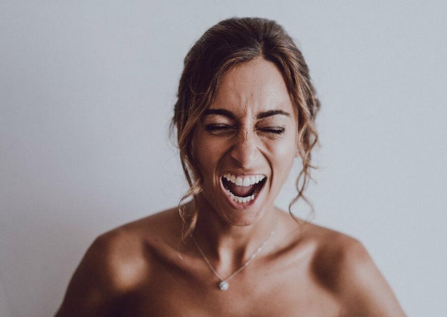Os momentos em que as noivas têm direito a ficar stressadas