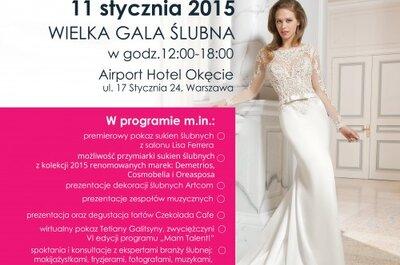 Wielka Gala Ślubna Open Bridal Day, której żadna Panna Młoda nie może przegapić!