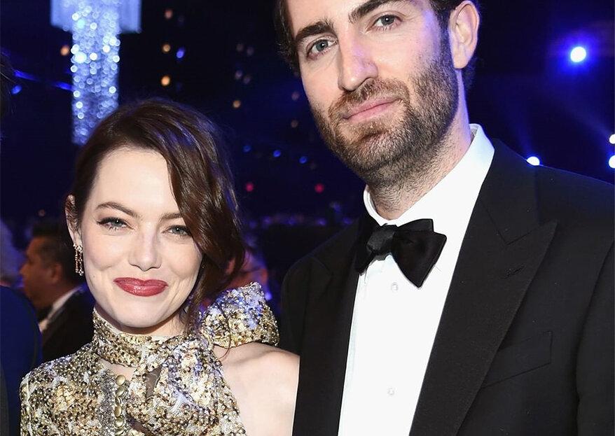 Emma Stone e Dave McCary estão noivos!