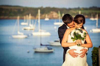 David + Clio : Un mariage sur le thème du voyage et une surprise autour de bébé