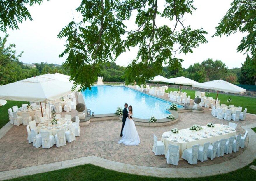 Tenuta di Ripolo: una location immersa nel verde dove poter scattare le fotografie di nozze più belle