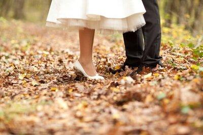 Melancholische Traumhochzeit: Alles für eine romantische Herbst-Hochzeit