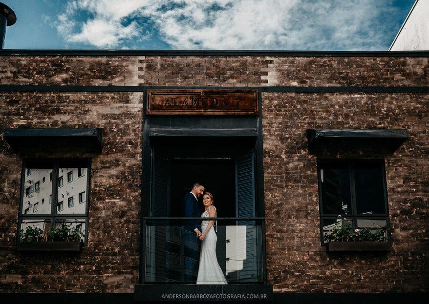 Lugares para se casar na cidade: comodidade com estilo urbano