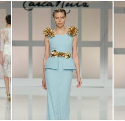 71d593897 Vestidos de fiesta Carla Ruiz 2017  detalles de palacio en diseños  espectaculares