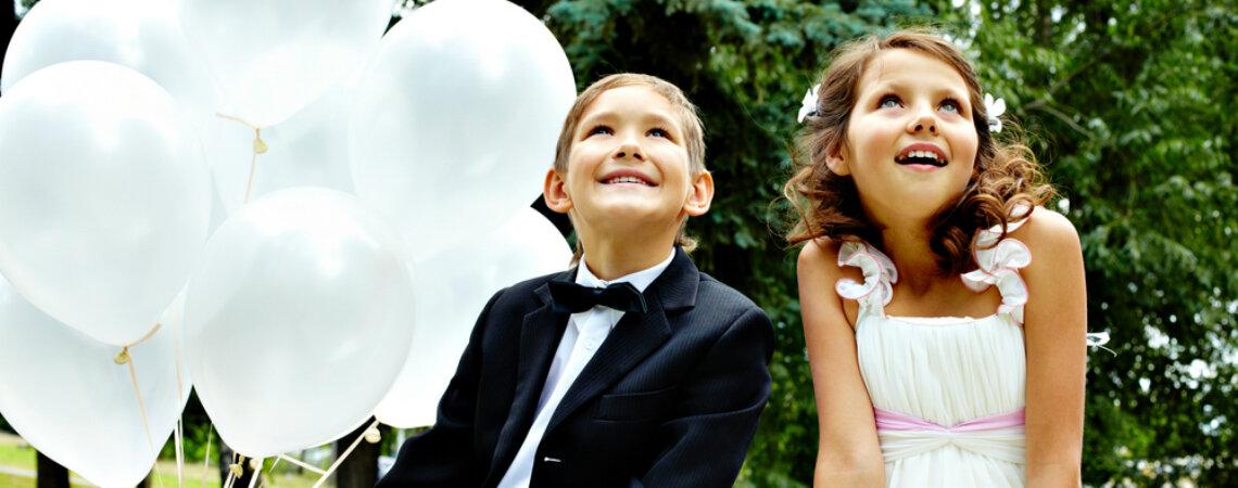 ¿Cómo vestir a los niños en una boda? ¡Ideas para los más pequeños de la casa!
