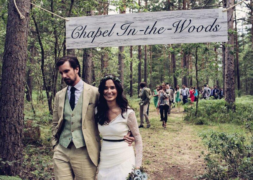 8 ideas originales para organizar una boda low-cost