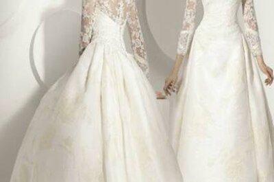 Vestidos de noiva Franc Sarabia 2012