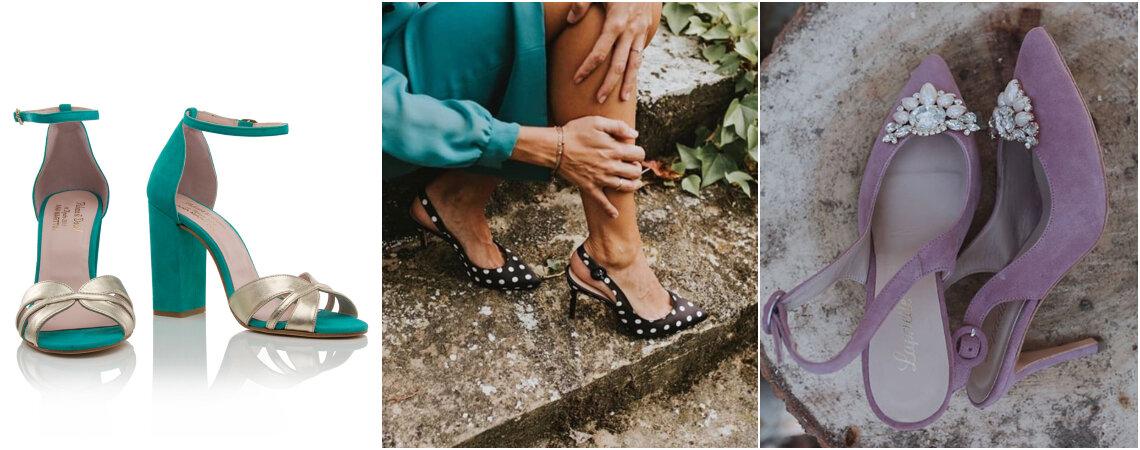 Los mejores zapatos de fiesta para invitadas. ¡Inspírate para encontrar el tuyo!