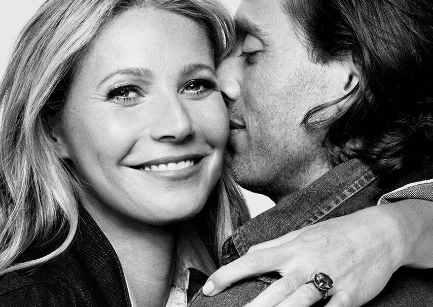 Gwyneth Paltrow casou este fim-de-semana com Brad Falchuk