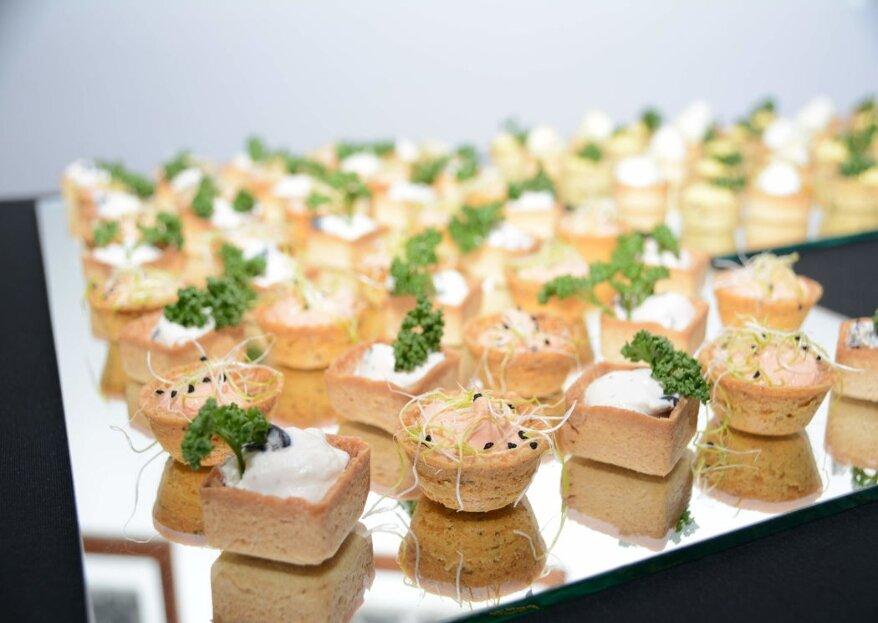 Debrilla Delicious Moment regalerà a sposi e invitati il piacere di un banchetto nuziale dal sapore unico!