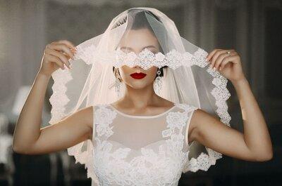 Почему невесты носят фату? Мы развеиваем сомнения!