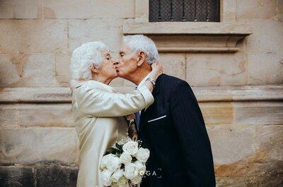 Nunca es tarde: la boda de Carmen y Fernando