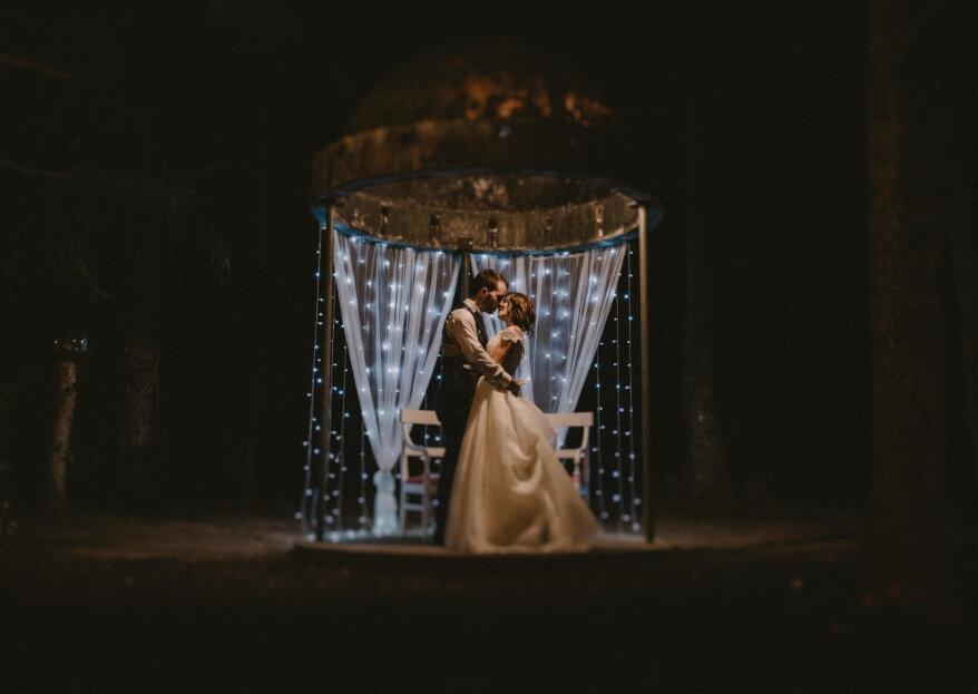 Una boda repleta de arte: el gran día de Laura y Oliver