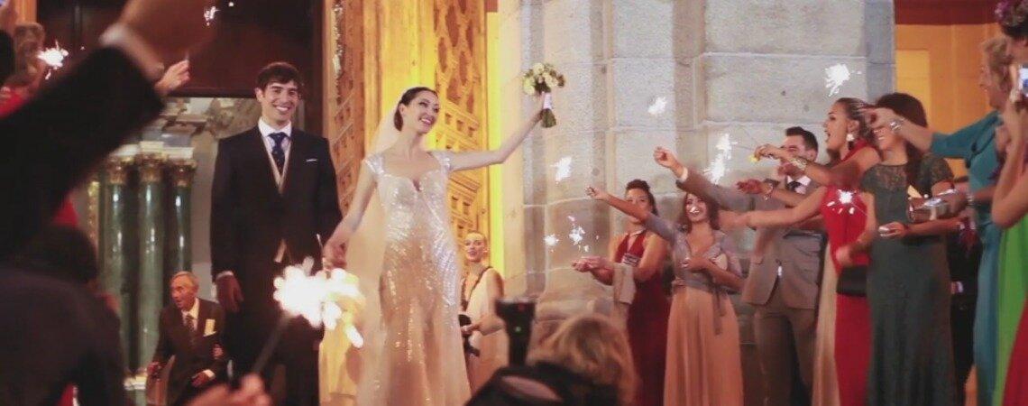 Desde Rusia con amor: la boda de Cristina y Javier