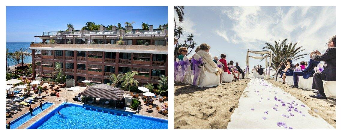¿Quieres celebrar tu boda frente al mar en un hotel de cinco estrellas?