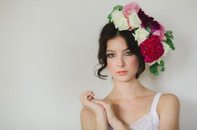 Conheça as 5 principais dúvidas sobre penteado e maquiagem de noivas!
