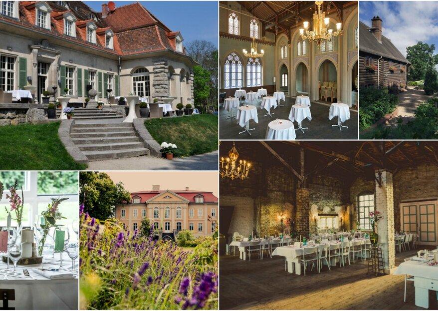 Besondere Hochzeits-Locations in der Umgebung von Berlin