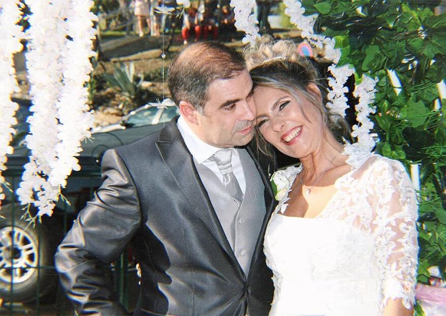 Após a longa relação com Camilo de Oliveira, Paula Marcelo realizou o desejo antigo de casar de véu e grinalda