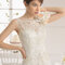 Tulle and Chantilly lace bodice