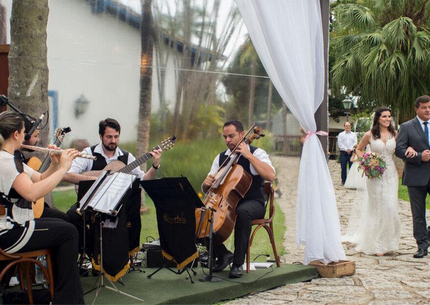 Quartula: Música ao vivo que toca na alma das pessoas para deixar o seu casamento ainda mais especial