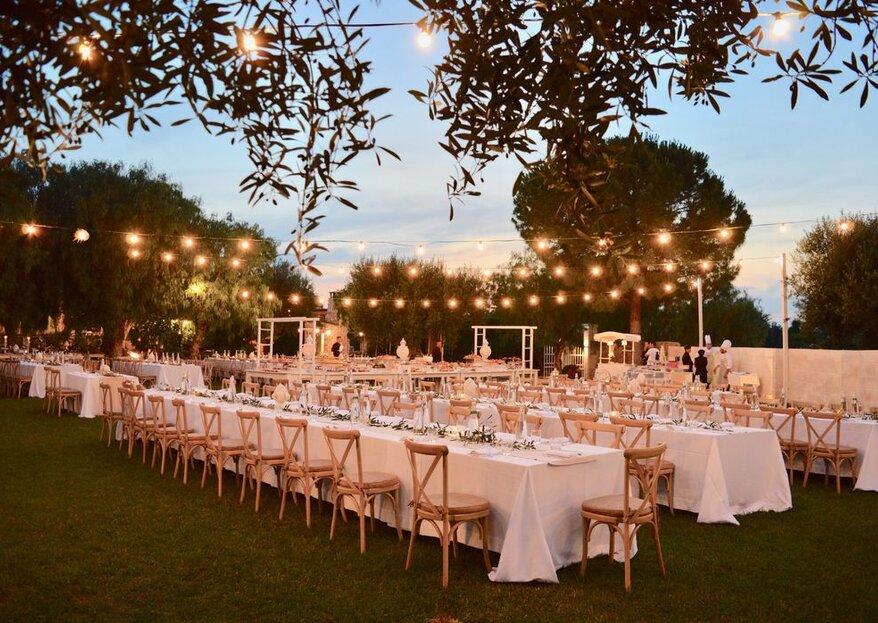 Come scegliere il catering per il tuo matrimonio: 5 dritte per non sbagliare
