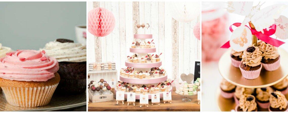 Kleine Kuchen für den großen Tag – Cupcakes zur Hochzeit