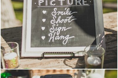 Tafeln für die Hochzeit: Im vintage, rustikalen und bohemischen Stil