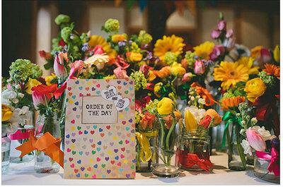 Une explosion de couleurs pour un mariage inoubliable!