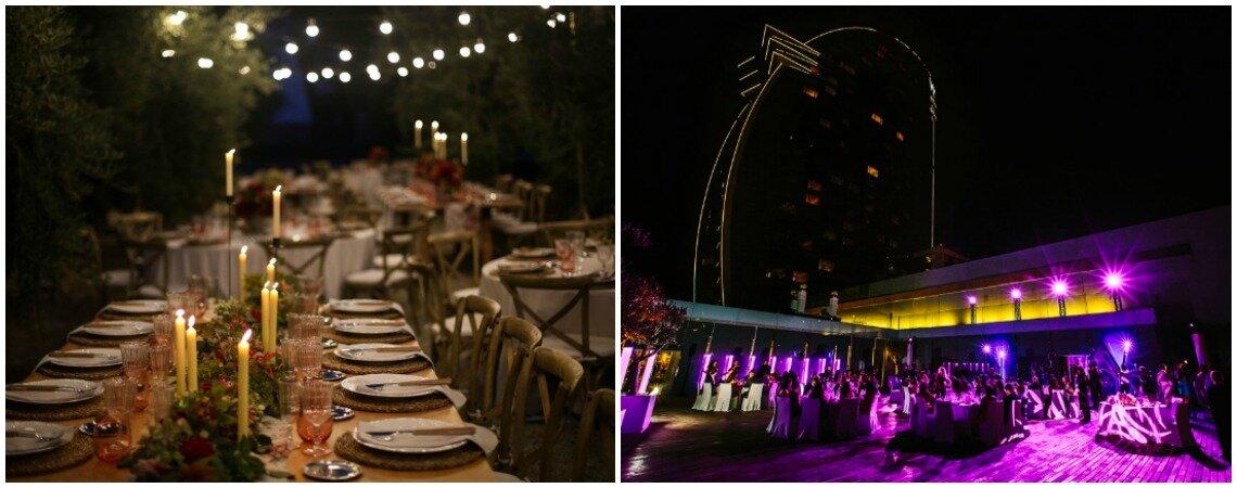 Las claves para una boda de tarde o noche: ¡elige el lugar y organízala a tu gusto!